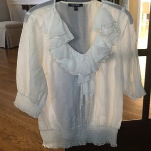 Off White, Daniel Rainn,70% cotton,30% silk blouse